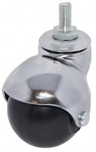 Thread Stem Swivel Caster With HEX